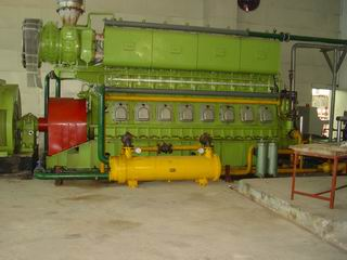 Heavy Fuel Oil Genset Power Station-Case 2