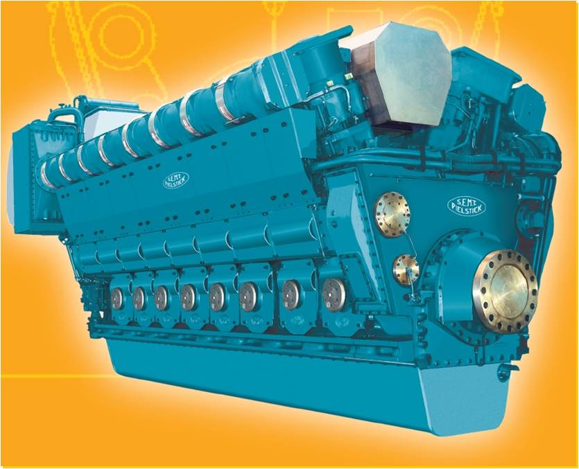 8MW Marine Engine(12PC2-6B-V600)