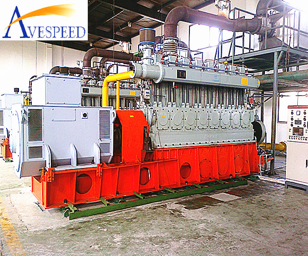 AVESPEED 100kw-1200kw LPG/biogas/biomass gas/natural gas generator set
